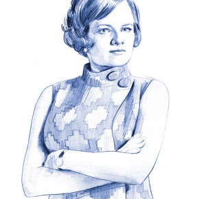 "Peggy Olson aus ""Mad Men"""