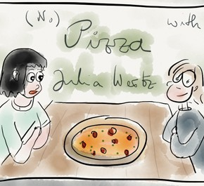 All She Can Eat: Keine Pizza mit Julia Wertz