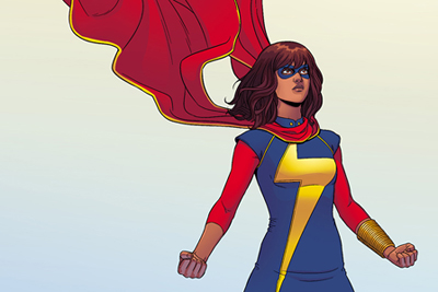 "Kamala Khan in ""Ms. Marvel"""