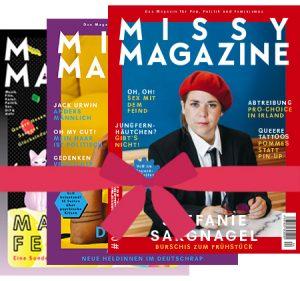 Missy Magazine Geschenk-Abo