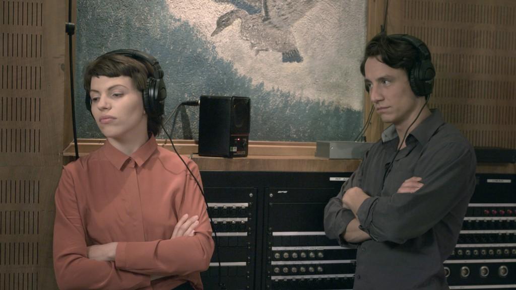 Anja Plaschg und Laurence Rupp. © Ruth Beckermann Filmproduktion