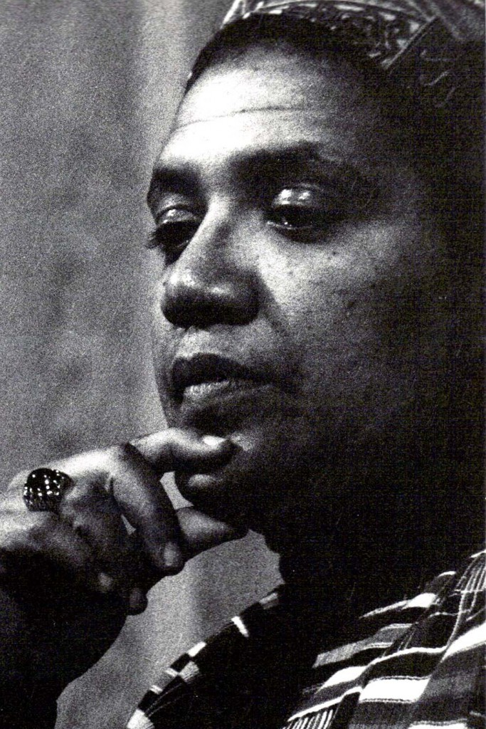 Audre Lorde, 1980, Austin, TX. @ K. Kendall, CC BY 2.0