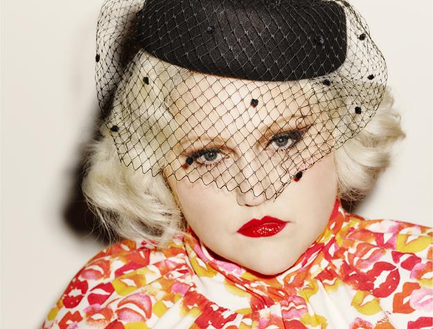 Glamourös und bunt ist Beth Dittos neue Kollektion© Ezra Petronio