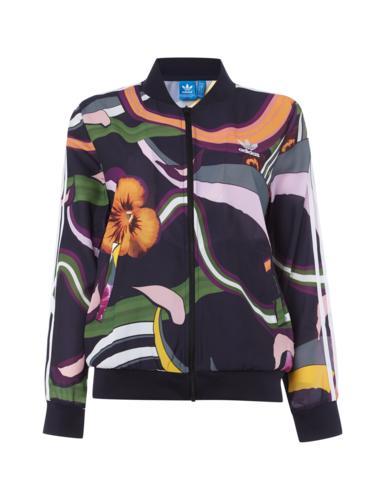 Adidas Originals Bomberjacke mit floralem Muster © Peek&Cloppenburg