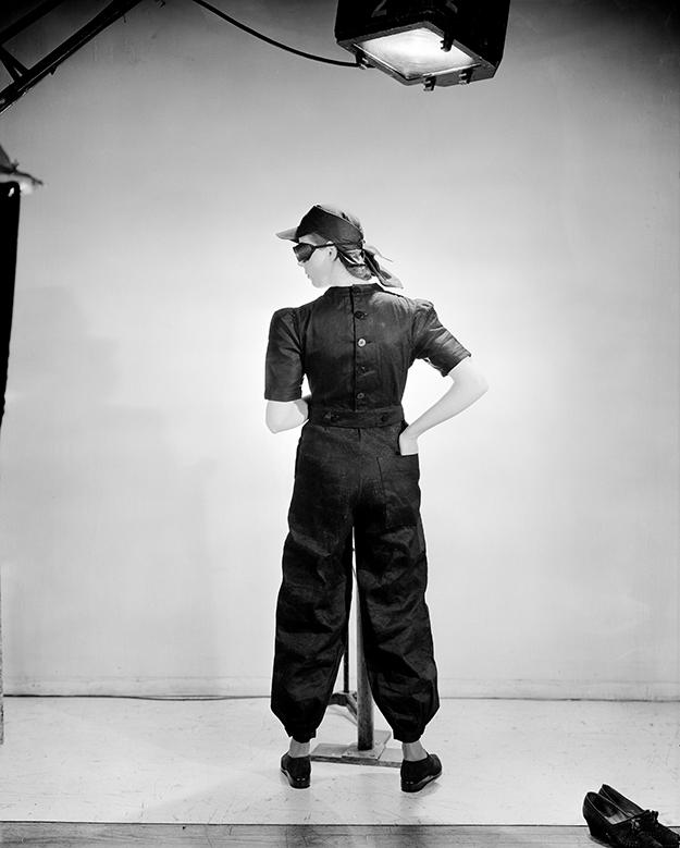 © Lee Miller Archives Lee Miller, Fashion for factories, Vogue Studio, London, England, 1941