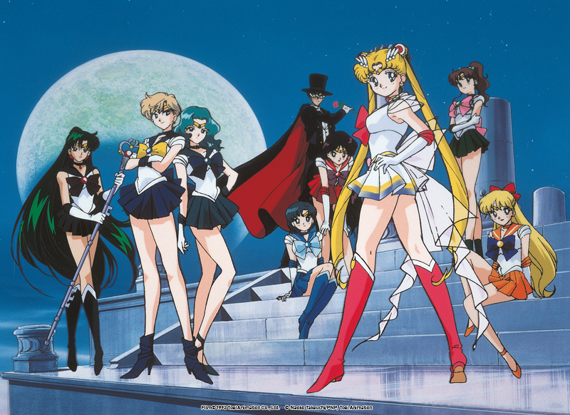 "Die Sailor-Kriegerinnen und Tuxedo Mask, published by VIZ Media Switzerland SA (German Version) // ""Pretty Guardian Sailor Moon (Crystal)"" © Naoko Takeuchi/PNP., Toei Animation, Kodansha"