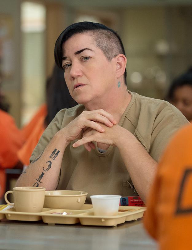 "Lea DeLaria als ""Big Boo"" in der Netflix-Serie ""Orange Is The New Black"" © JoJo Whilden/Netflix"
