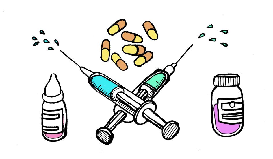 Angst vor Hormonen? Wohl eher Angst vor einer medizinischen Transition. © Tine Fetz