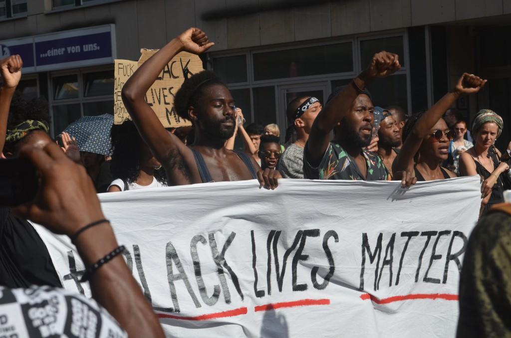 #BlackLivesMatter-Demonstration am 10. Juli 2016 in Berlin © Chris Schulz