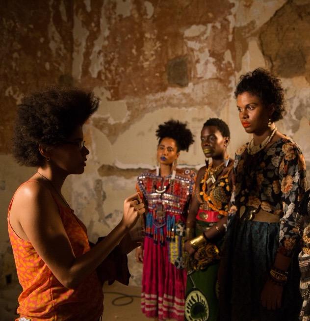 Thayná (links) will Schwarze Filmkultur sichtbarer machen © Alile Dara Onawale