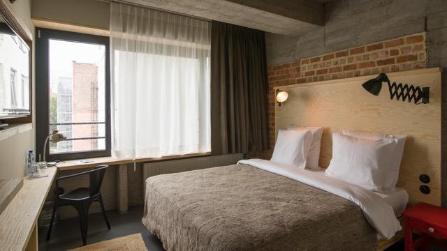 Der künstlerische Flair im JAM Hotel macht die Unterkunft besonders. © Girls Heart Brussels