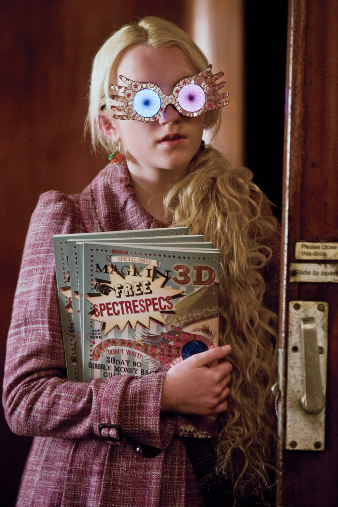 HARRY POTTER AND THE HALF BLOOD PRINCE [BR / US 2009] EVANNA LYNCH as Luna Lovegood Date: 2009 (Mary Evans Picture Library) | Nur für redaktionelle Verwendung., Keine Weitergabe an Wiederverkäufer.