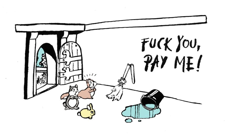 Kostenlose Sorgearbeit von Frauen und Femmes? Diesmal nicht. © Tine Fetz