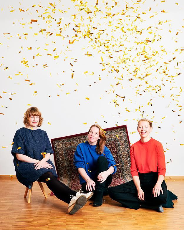 Stefanie Lohaus, Kathrin Tschirner, Mirjam Klessman © Verena Brüning